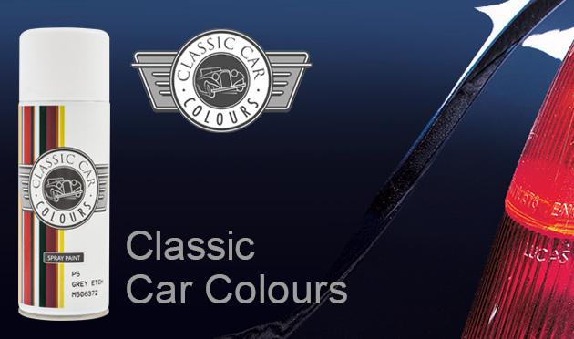 Classic Car Colours